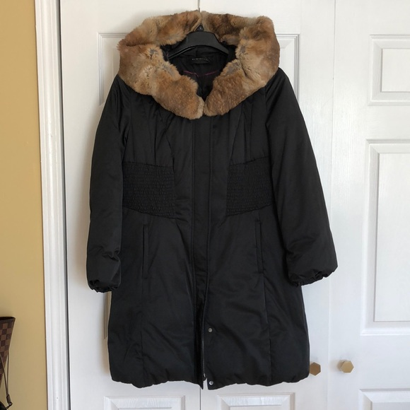 Elie Tahari Jackets & Blazers - Elie Tahari- down puffer cost with real fur trim